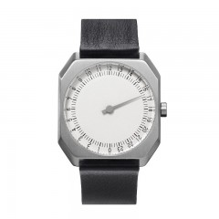 SLOW JO 05 SILVER SILVER BLACK LEATHER