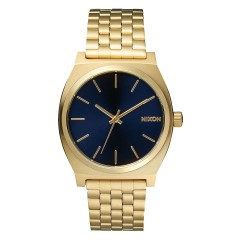 NIXON THE TIME TELLER ALL LIGHT GOLD / COBALT