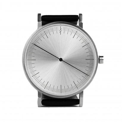 SIMPL WATCH ONE COLLECTION / SILVER BLACK
