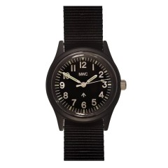 MWC MATT BLACK 1960's/70s PATTERN EUROPEAN MILITARY WATCH