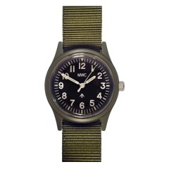 MWC MATT OLIVE DRAB 1960's PATTERN EUROPEAN MILITARY WATCH