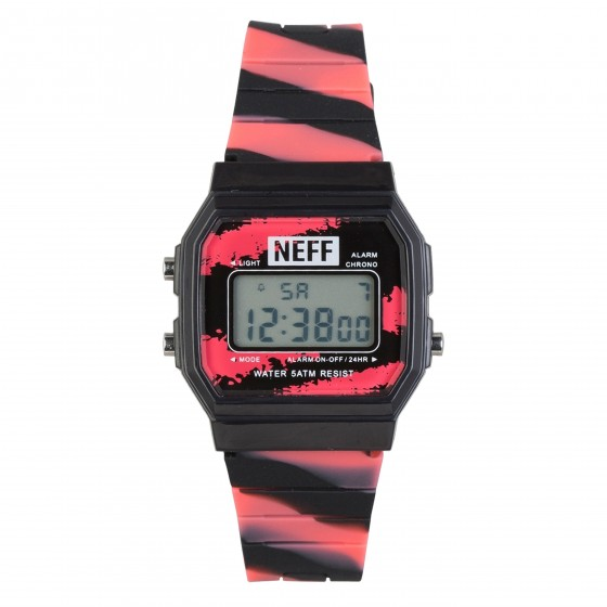 NEFF FLAVA WATCH XL TIGERBLOOD