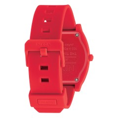 NIXON THE TIME TELLER P CORP RED
