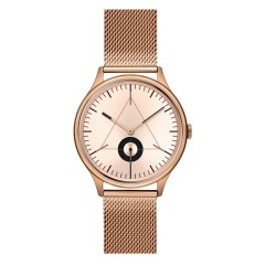 CRONOMETRICS THE ARCHITECT S06 ROSE GOLD MESH