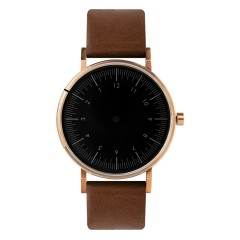 SIMPL WATCH REVERSE COLLECTION - NOVA BROWN
