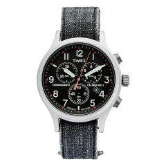 TIMEX ARCHIVE ALLIED CHRONO STONE WASHED DENIM DARK GREY