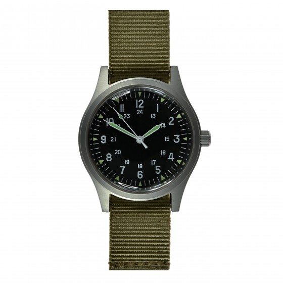 MWC GG-W-113 US 1960s PATTERN MILITARY WATCH