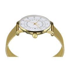 SQUARESTREET PLANO GOLD MILANESE SQ38-PS-76