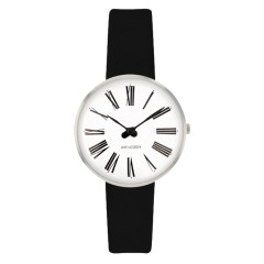 ARNE JACOBSEN ROMAN 30MM BLACK / SILVER