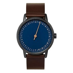 SLOW ROUND 03 ANTHRACITE BLUE BROWN