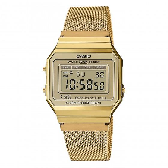 CASIO A700WEMG-9AEF GOLD MILANESE