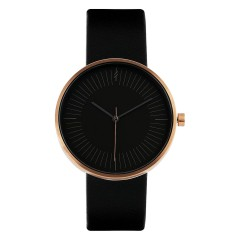 SIMPL WATCH TIMELESS AMBER BLACK 39