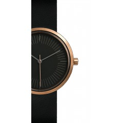 SIMPL WATCH TIMELESS AMBER BLACK 33