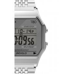 TIMEX 80 DIGITAL TW2R793 SILVER