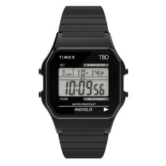 TIMEX 80 DIGITAL TW2R670 BLACK