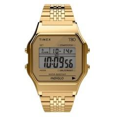 TIMEX 80 DIGITAL TW2R792 GOLD