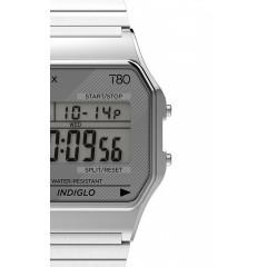TIMEX 80 DIGITAL TW2R791 SILVER