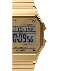 TIMEX 80 DIGITAL TW2R790 GOLD