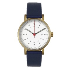 VOID WATCHES V03D-GO/RB/WH GOLD WHITE BLUE