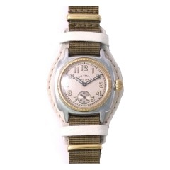 VAGUE WATCH COUSSIN MIL GOLD 28MM