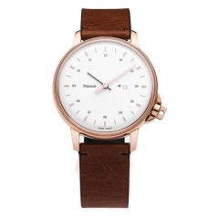 MIANSAI M12 SWISS ROSE GOLD WHITE VINTAGE COGNAC