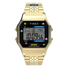 TIMEX 80 x PACMAN GOLD LTD EDITION