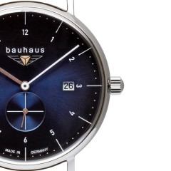 BAUHAUS QUARTZ SMALL SECOND 2130-3