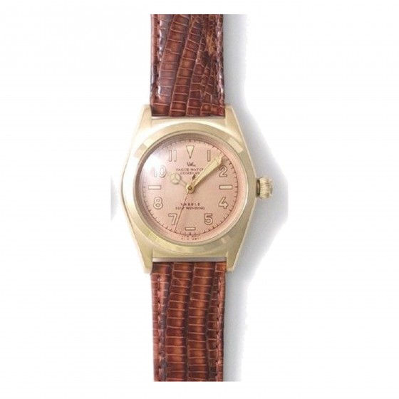 VAGUE WATCH CO. VABBLE AUTOMATIC BROWN
