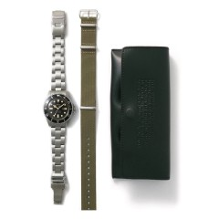 VAGUE WATCH DIVER'S SON STAINLESS STEEL