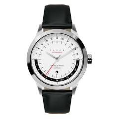 VASCO WATCH - NOCTURNE AUTOMATIQUE 24H BLACK STRAP