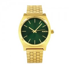 NIXON THE TIME TELLER GOLD / GREEN SUNRAY