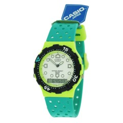 VINTAGE CASIO GREEN FLUO