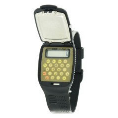 VINTAGE CASIO FLIP TOP CALCULATOR WATCH