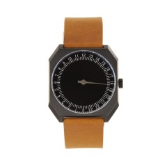 SLOW JO 19 / BROWN VINTAGE LTHR BLACK