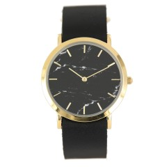 ANALOG WATCH CO CLASSIC BLACK MARBLE BLACK STRAP